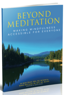 Cover of Beyond Meditation book