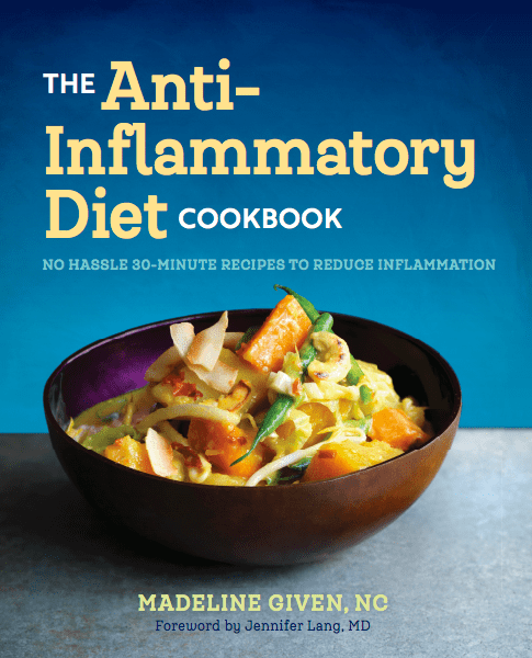 Cover of The Anti-Inflammatory Diet Cookbook by Madeline Given, NC