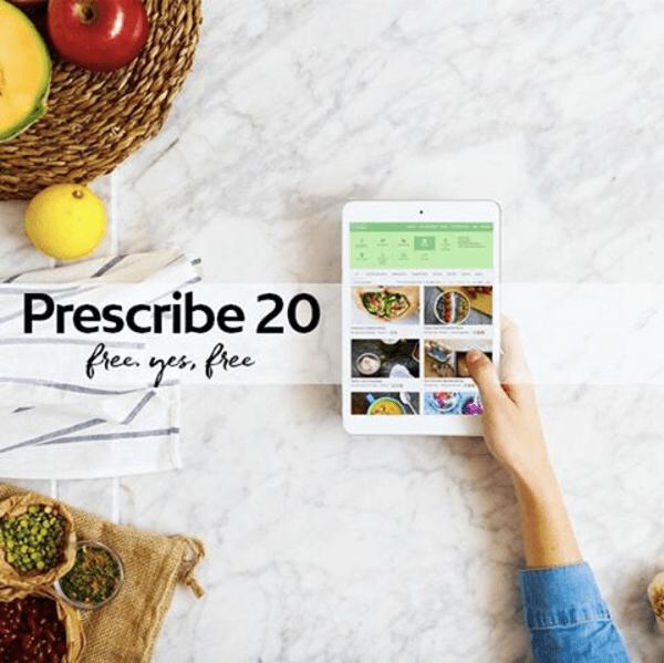 Prescribe 20 app ad