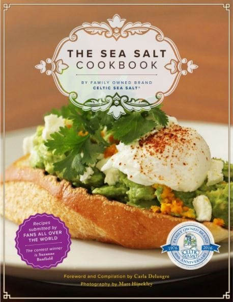Cover of The Sea Salt Cookbook by Celtic Sea Salt