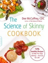 Cover of The Science of Skinny Cookbook by Dee McCaffrey, CDC