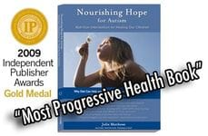Cover of Nourishing Hope book by Julie Matthews