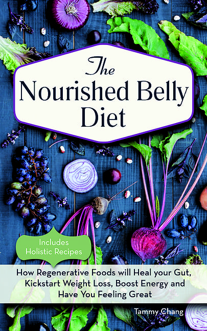 Cover for The Nourished Belly Diet book by Tammy Chang