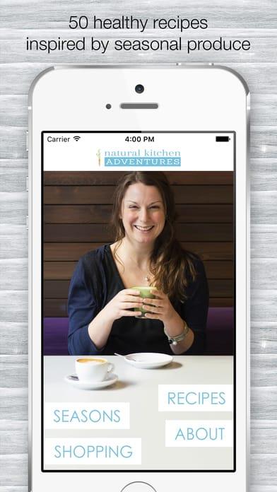 natural kitchen adventures app ad