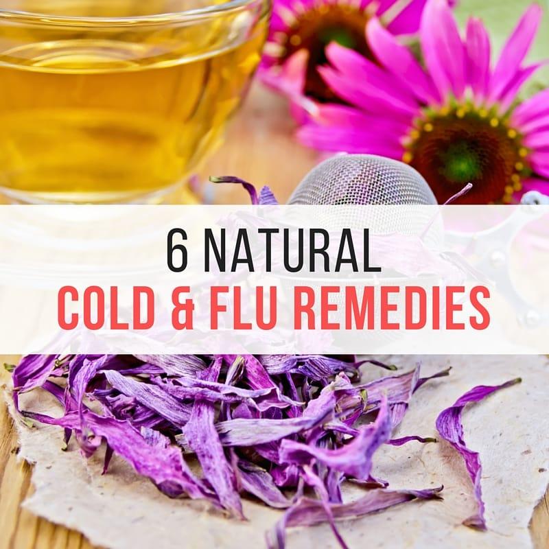 6 natural Cold & Flu Remedies (1)