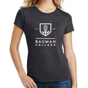 Bauman College women's t-shirt