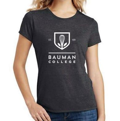 Bauman College women's t-shirt