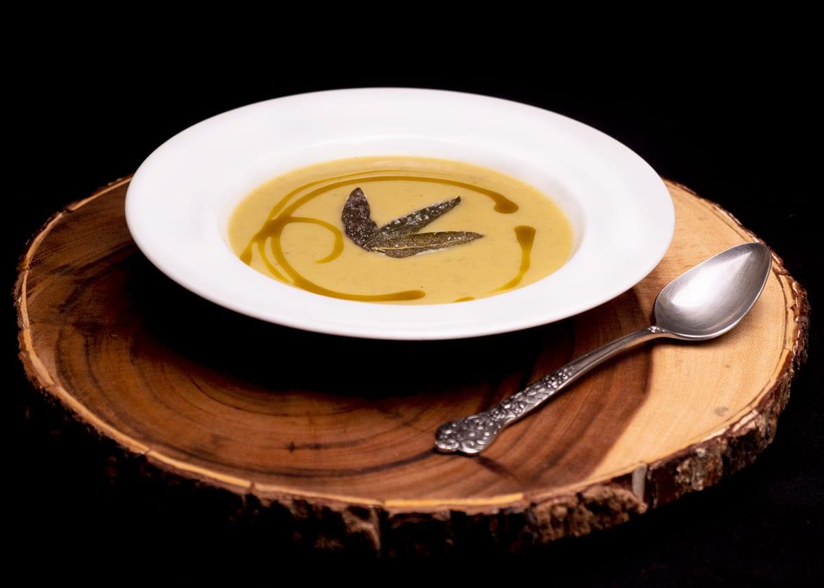 Sage + Summer Squash Soup