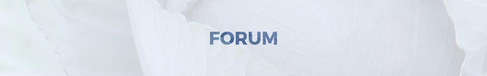 forum sub header