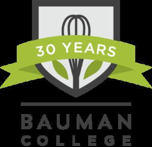Bauman College 30 Year Logo