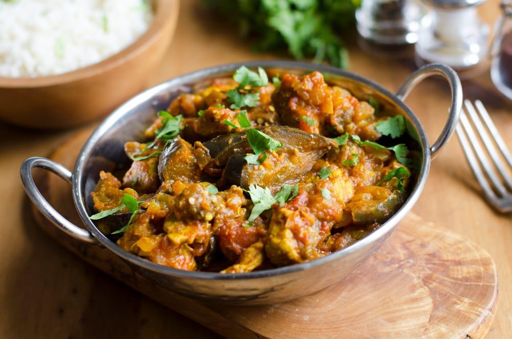Tomato + Eggplant Curry
