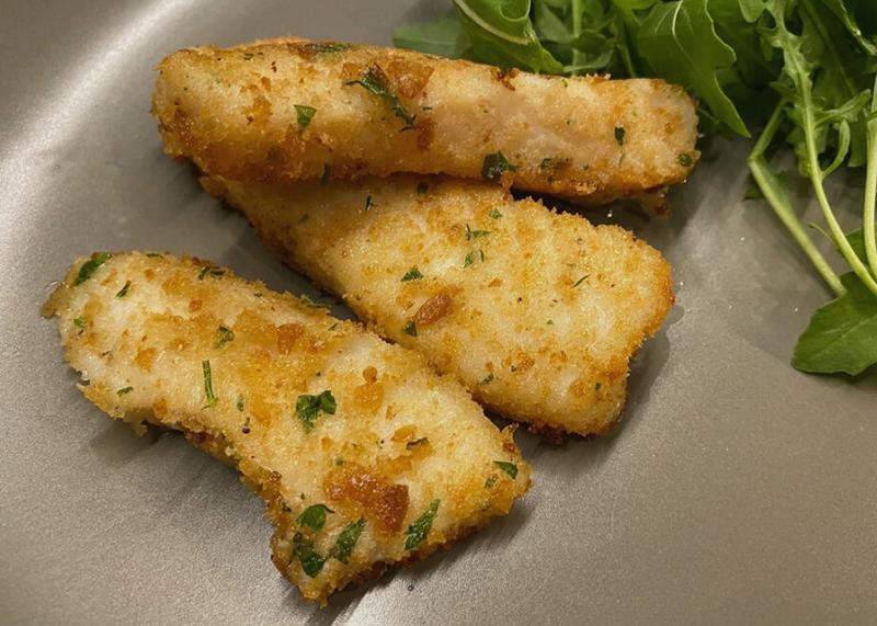 Fish Sticks by Chef Lizette Marx