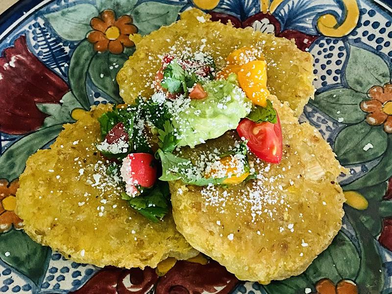 Plantain & Yuca Tostones by Chef Lizette Marx